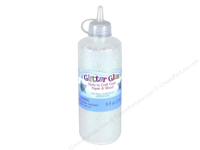 Sulyn Glitter Glue 8 oz Opal