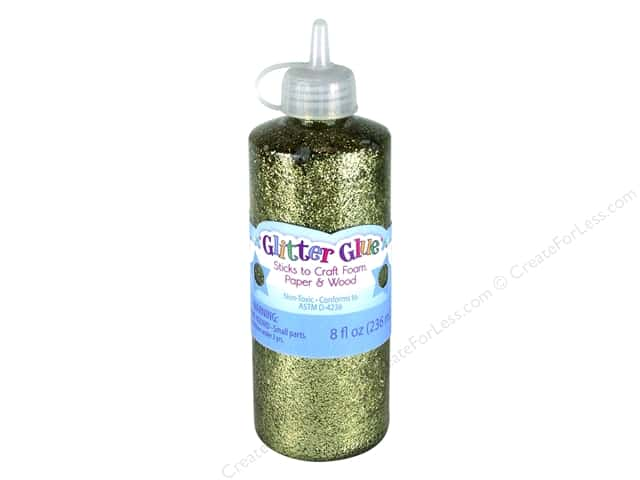 Sulyn Glitter Glue 8 oz Gold