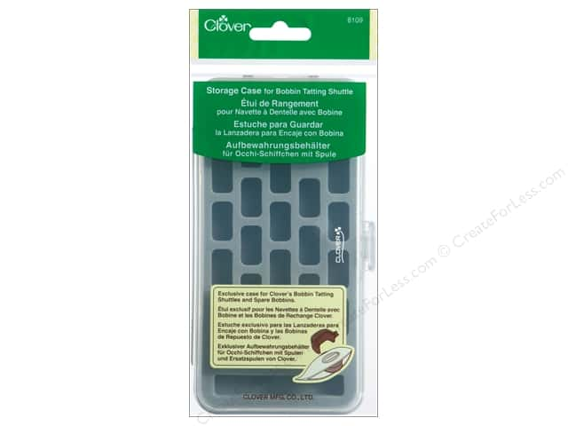 Clover Storage Case Bobbin Tatting Shuttle