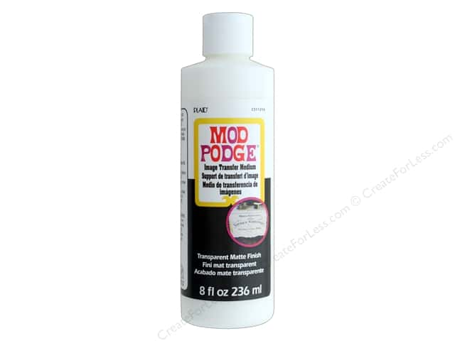 Plaid Mod Podge Image Transfer Clear 8 oz