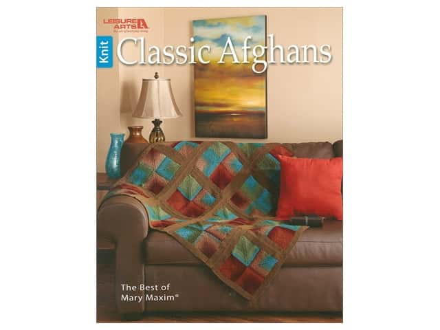 Leisure Arts Classic Afghans Book