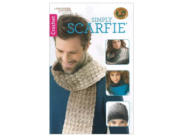 Leisure Arts Simply Scarfie Book