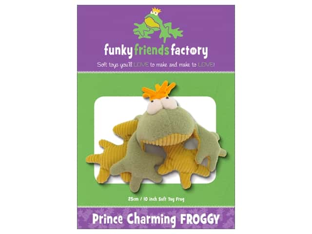 Funky Friends Factory Prince Charming Froggy Pattern