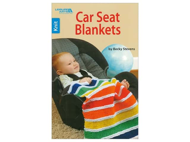 Leisure Arts Car Seat Blankets Book