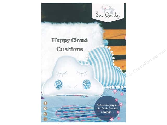 Sew Quirky Happy Cloud Cushion Pattern