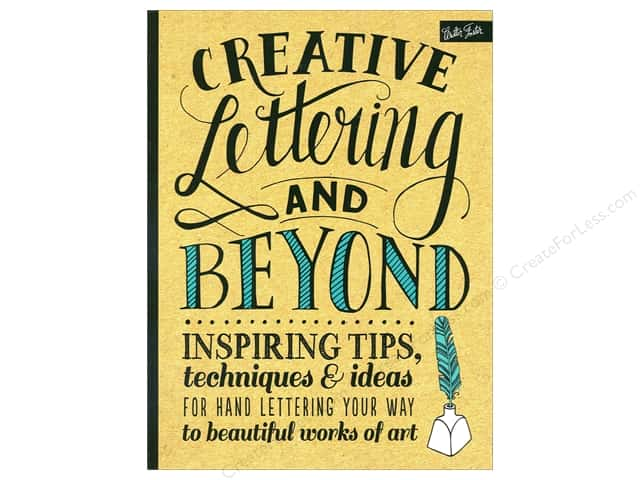 Walter Foster Creative Lettering and Beyond Book