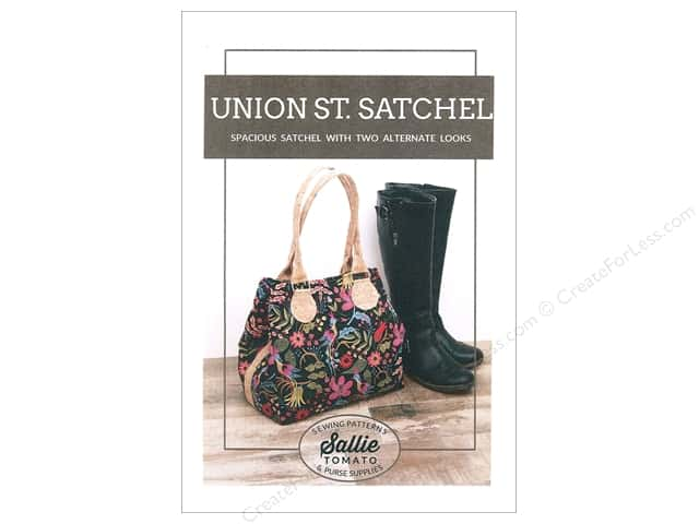 Sallie Tomato Union Street Satchel Pattern