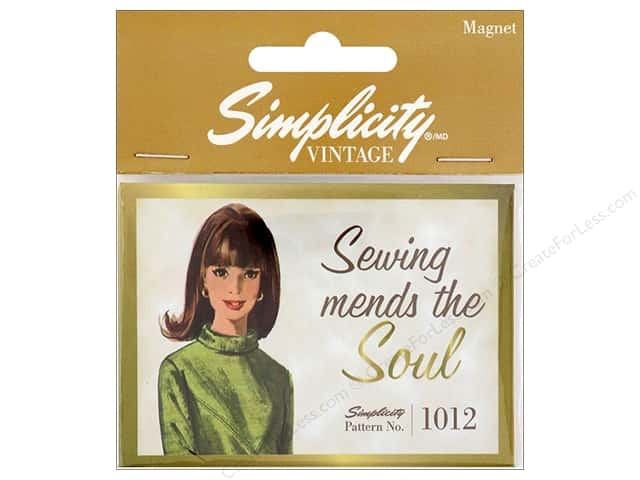 Simplicity Notions Vintage Magnet Sewing Mends (3 pieces)