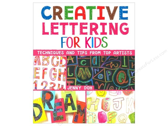 Creative Lettering for Kids Book