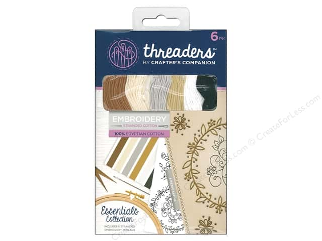 Crafter's Companion Threaders Embroidery Stranded Cotton - Essentials