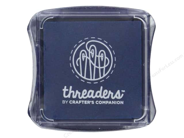 Crafter's Companion Threaders Fabric Ink Pad Blue