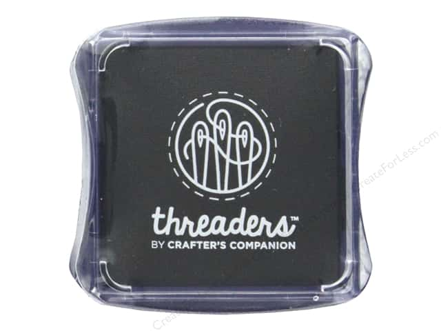 Crafter's Companion Threaders Fabric Ink Pad Black
