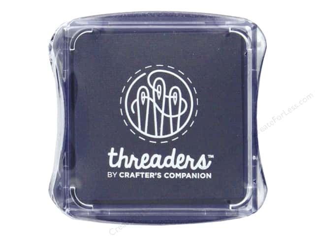 Crafter's Companion Threaders Fabric Ink Pad Violet