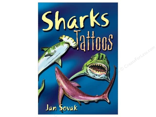 Dover Publications Little Sharks Tattoos Book