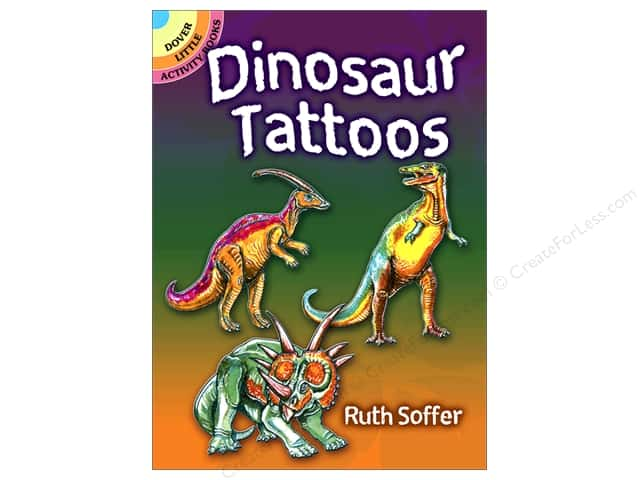 Dover Publications Little Dinosaur Tattoos Book
