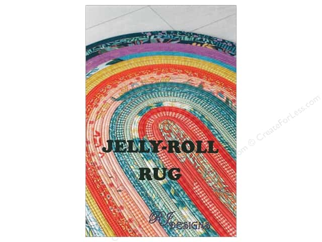 RJ Designs Jelly Roll Rug Pattern