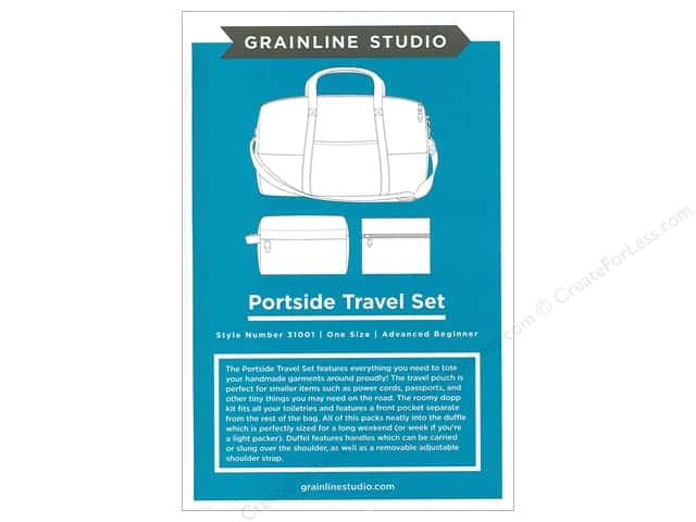 GrainLine Studio Portside Travel Set Pattern