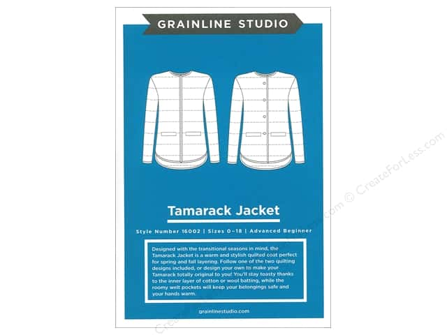 GrainLine Studio Tamarack Jacket Pattern