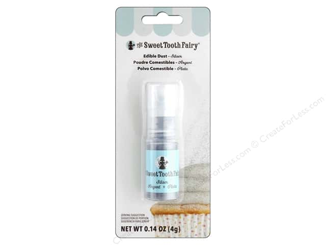 American Crafts Sweet Tooth Fairy Dust Pump .14 oz Silver