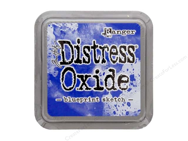Ranger Tim Holtz Distress Ink Pad Oxide Blueprint Sketch