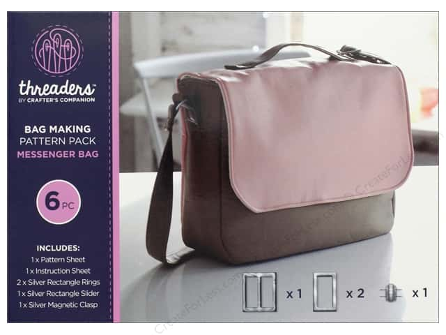Crafter's Companion Threaders Bag Making Kit Messenger Bag