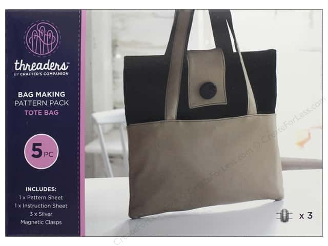 Crafter's Companion Threaders Bag Making Kit Tote Bag