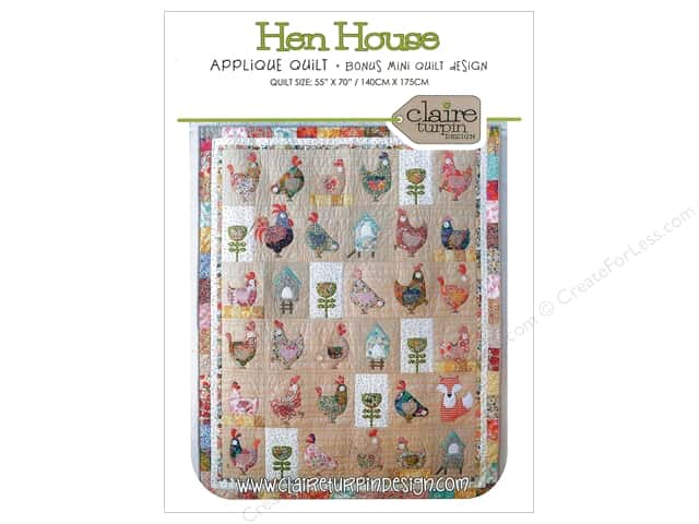 Claire Turpin Design Hen House Quilt Pattern