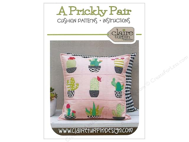 Claire Turpin Design A Prickly Pair Cushion Pattern