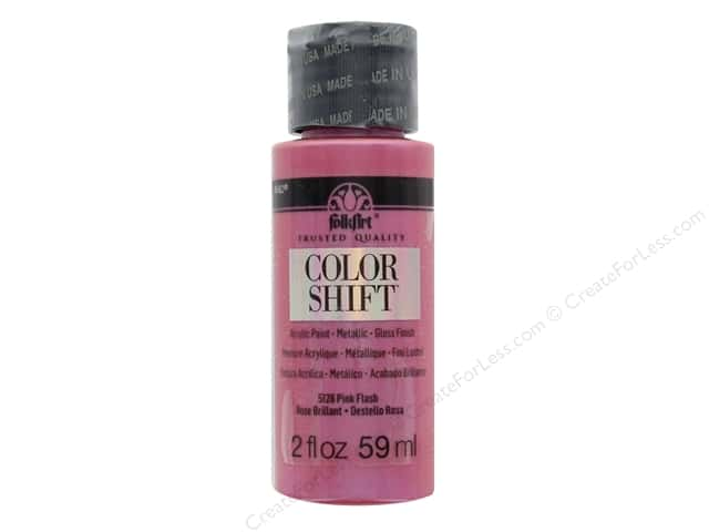 Plaid Folkart Color Shift Paint 2 oz. Pink Flash
