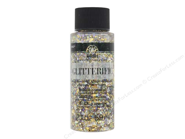 Plaid FolkArt Glitterific Paint 2 oz. Unicorn