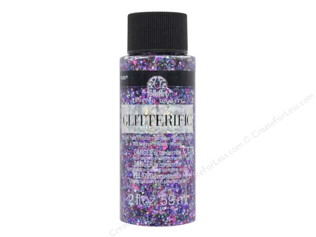 Plaid FolkArt Glitterific Paint 2 oz. Princess