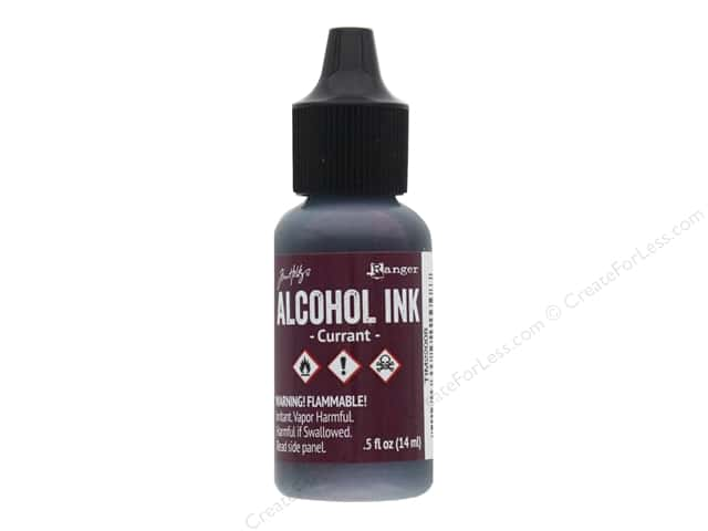 Tim Holtz Alcohol Ink by Ranger .5 oz. Currant