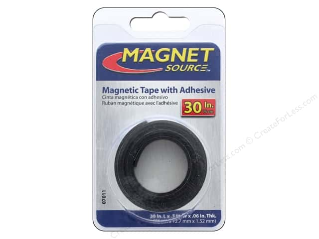 The Magnet Source Flexible Magnetic Tape 1/2 x 30 in.