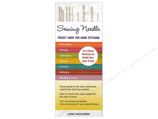 C&T Publishing Sewing Needle Pocket Guide For Hand Stitching