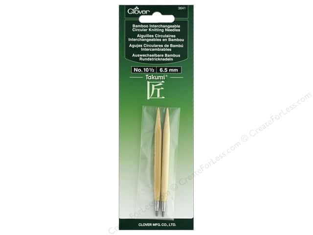 Clover Interchangeable Circular Knitting Needle Size 10.5