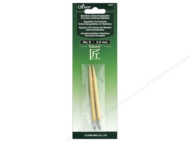 Clover Interchangeable Circular Knitting Needle Size 9