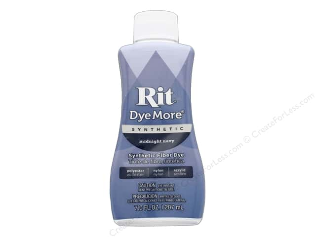 Rit DyeMore Synthetic Dye 7fl oz Midnight Navy
