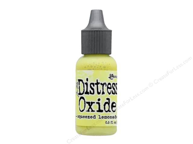 Ranger Tim Holtz Distress Reinker Oxide Squeezed Lemonade