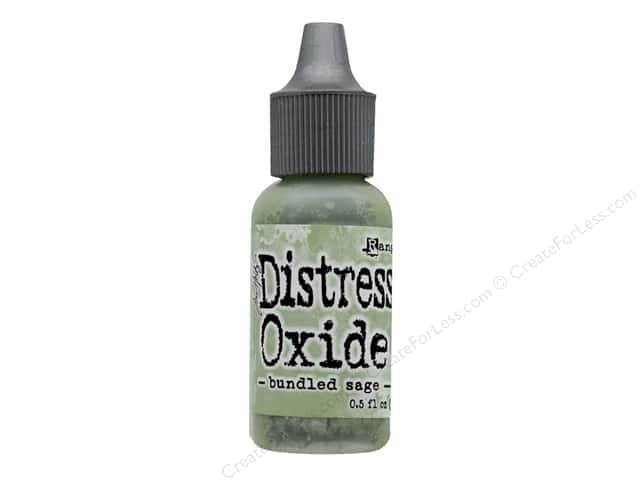 Ranger Tim Holtz Distress Oxide Reinker .5 oz. Bundled Sage