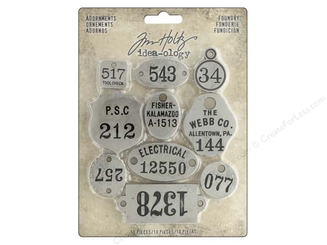 Tim Holtz Idea-ology Adornments Foundry