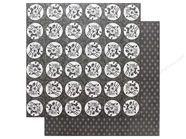 Bo Bunny Collection Black Tie Affair Paper 12 in. x 12 in. Lovely