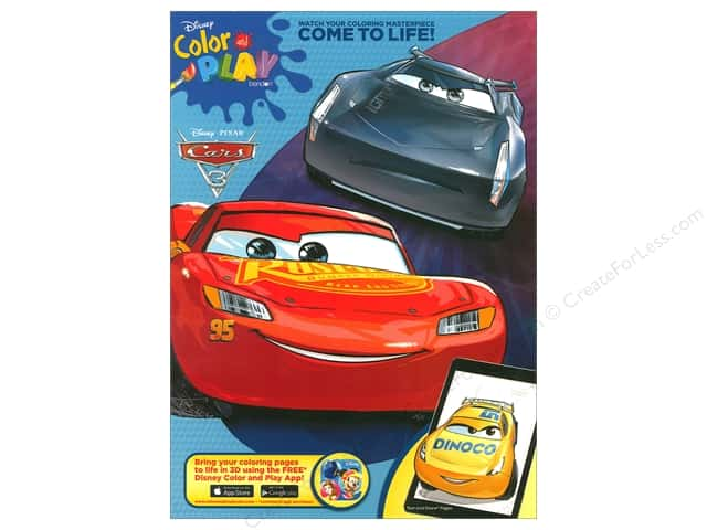 Bendon Books Color And Play Book Cars 3