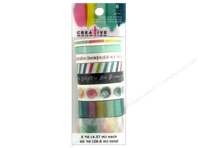 American Crafts Creative Devotion Washi Tape 4