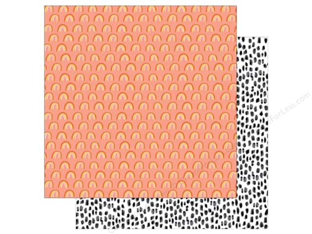 American Crafts Collection Dear Lizzy Stay Colorful Paper 12 in. X 12 in. Hey Sunshine (25 pieces)
