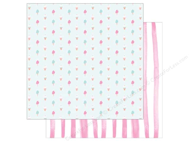 American Crafts Collection Dear Lizzy Stay Colorful Paper 12 in. X 12  in. Sweetness (25 pieces)