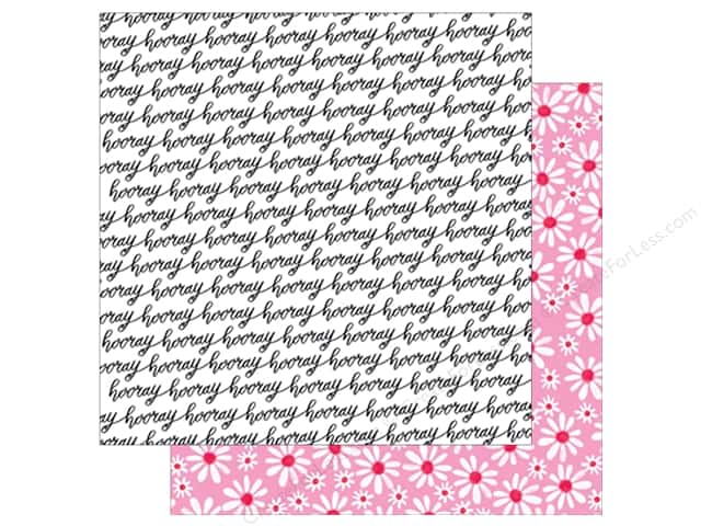 American Crafts Collection Dear Lizzy Stay Colorful Paper  12 in. X 12  in. Let's Boogie (25 pieces)
