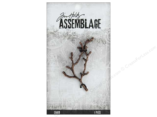 Tim Holtz Assemblage Charms Branch