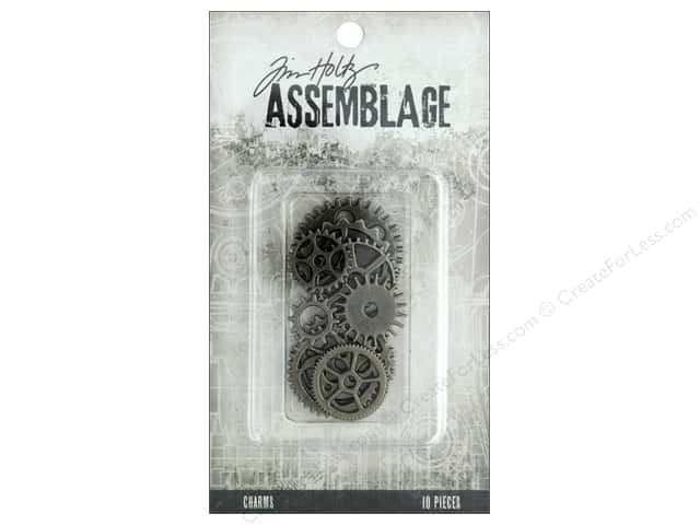 Tim Holtz Assemblage Charms Gears And Cogs