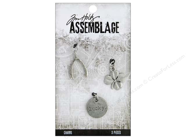 Tim Holtz Assemblage Charms Lucky