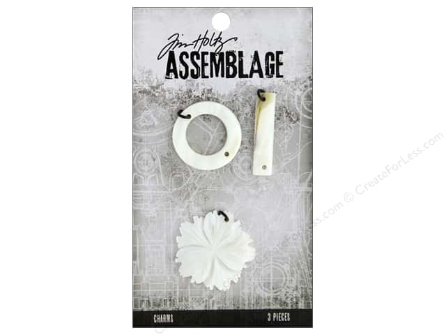 Tim Holtz Assemblage Charms Shell Flower And Links